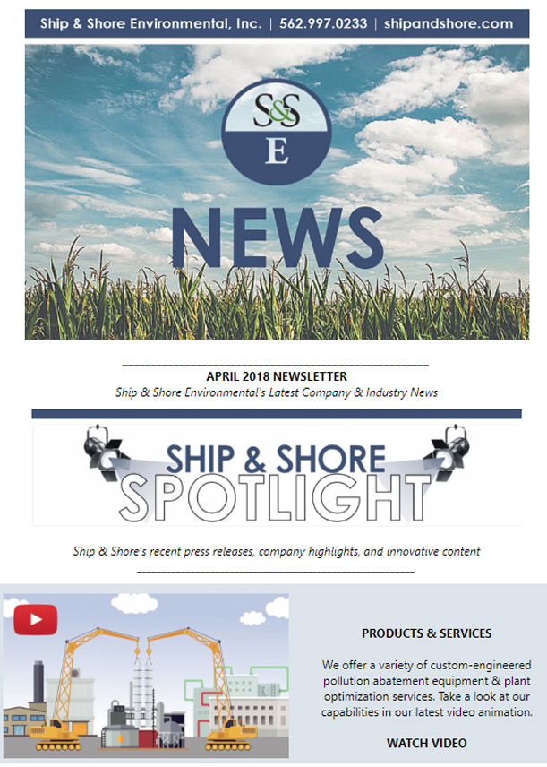 Ship and Shore Newsletter – April 2018