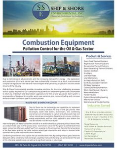 Combustion Equipment Brochure