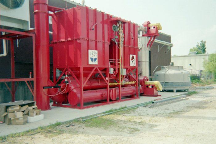 Refurbished Oxidizer System