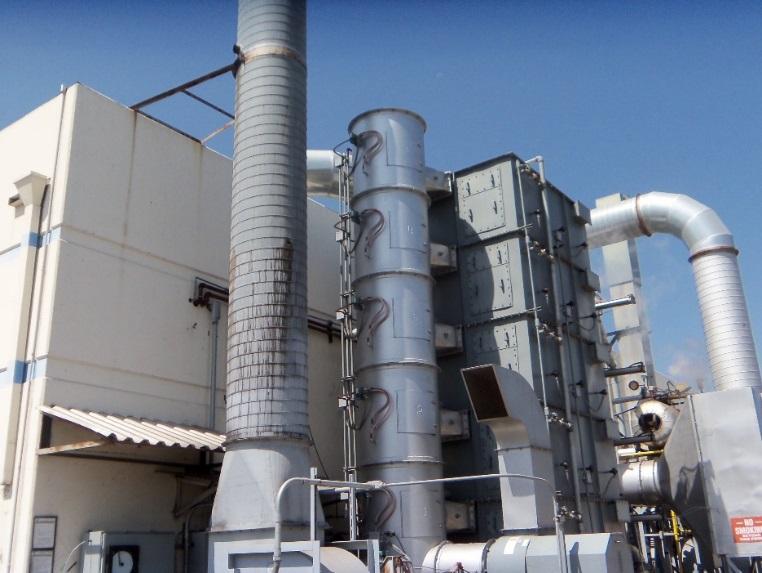 Soil Vapor Extraction Oxidizer