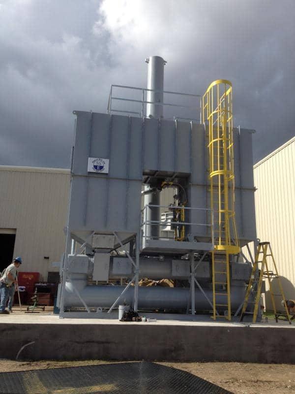10,000 SCFM Regenerative Thermal Oxidizer