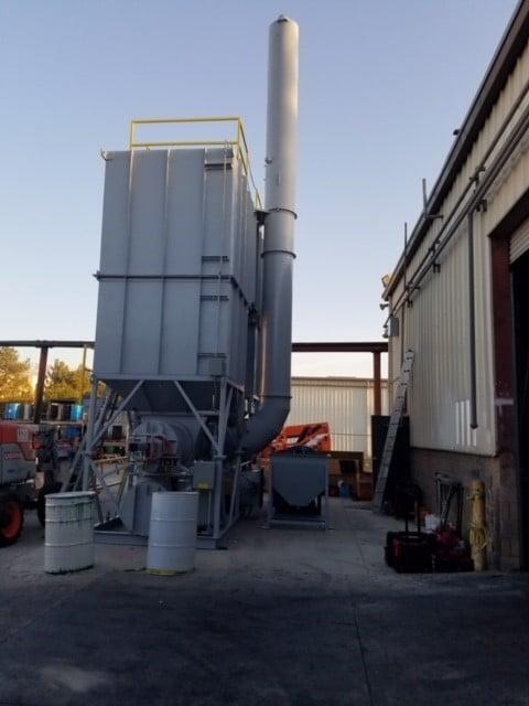 Regenerative Thermal Oxidizer for Coating Industry - 12,000 SCFM