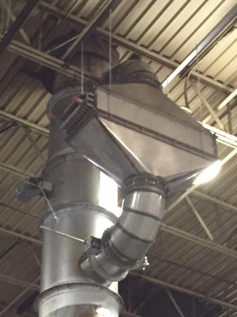 15,000 SCFM Regenerative Thermal Oxidizer
