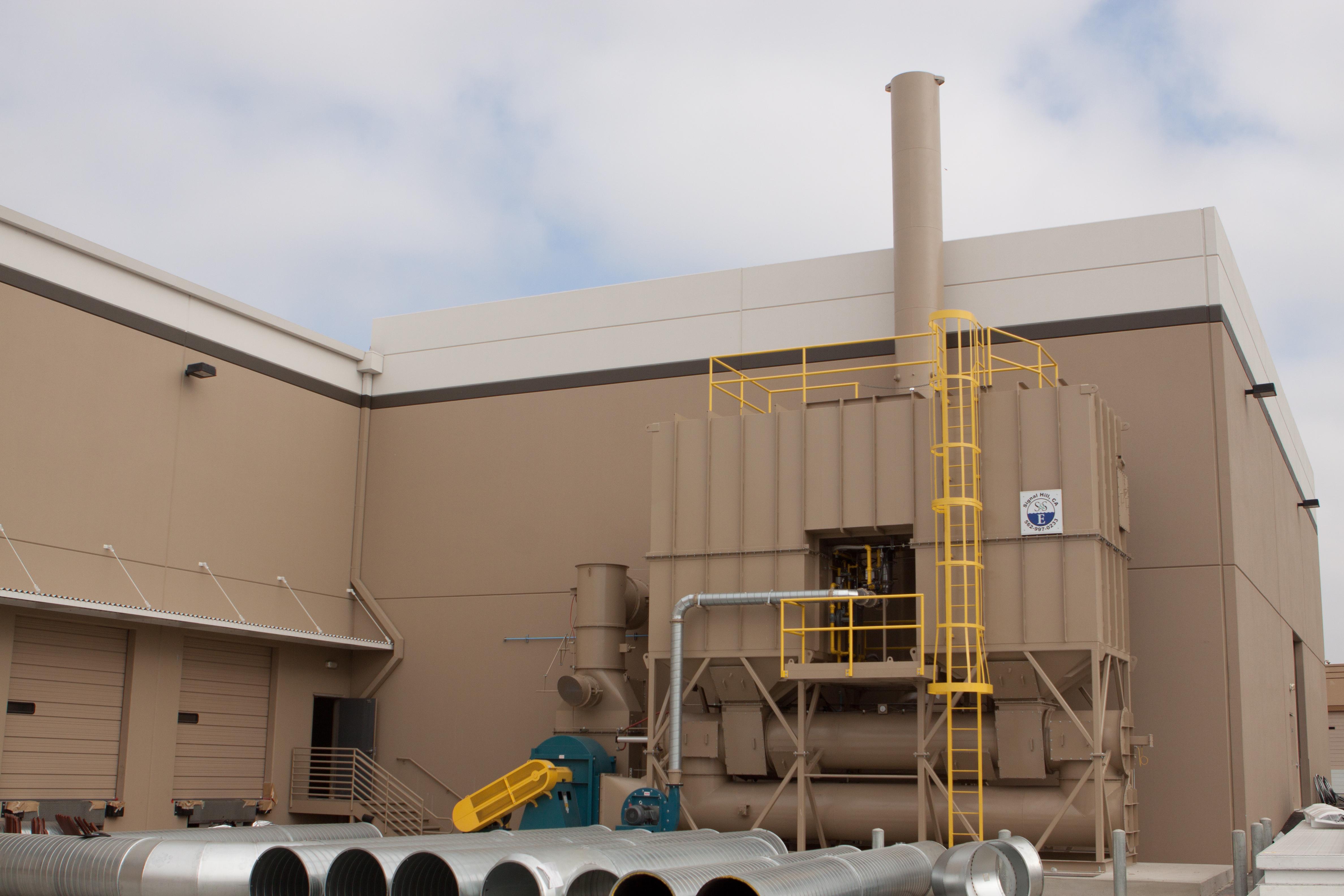 20,000 SCFM Regenerative Thermal Oxidizer