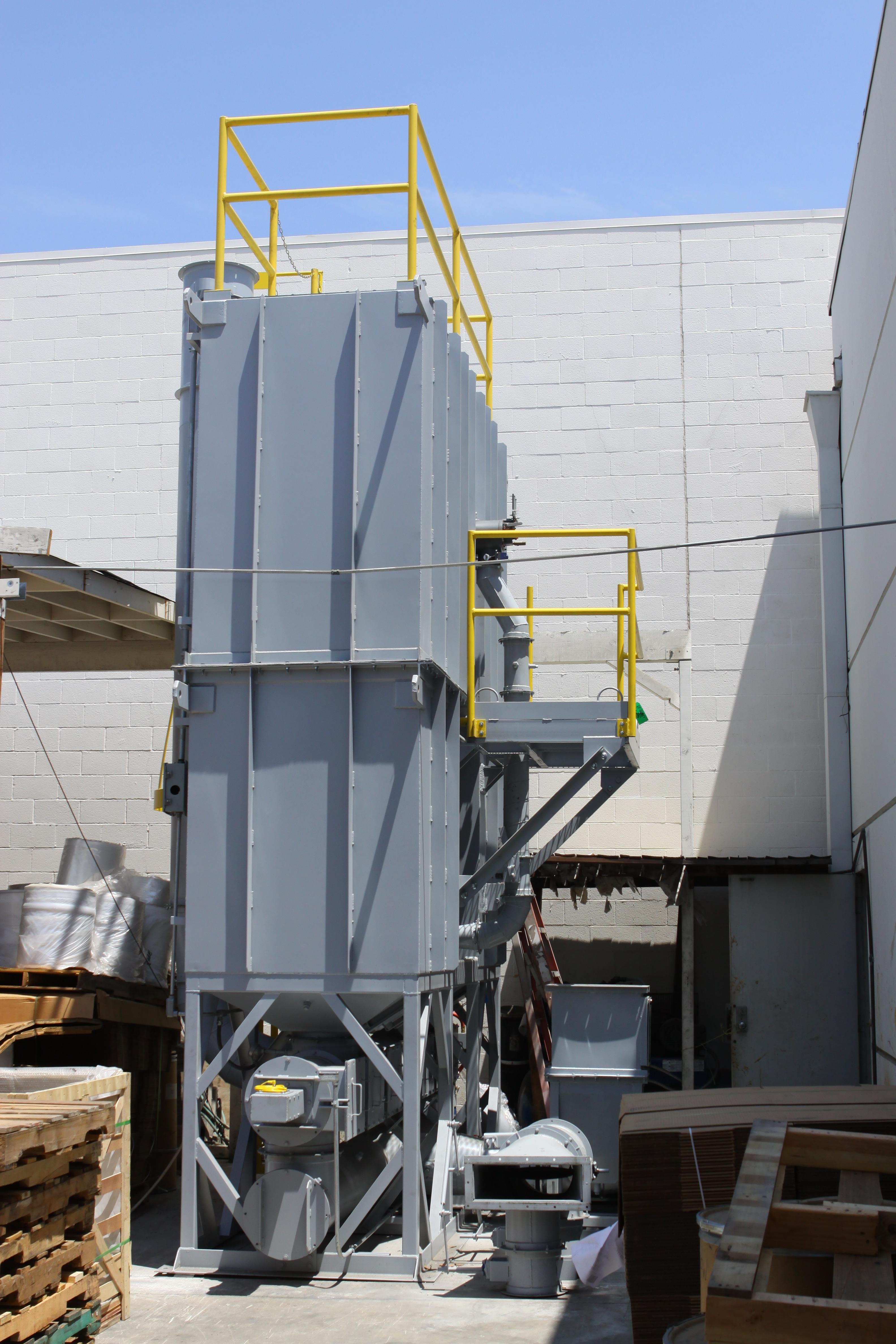 3,000 SCFM Regenerative Thermal Oxidizer