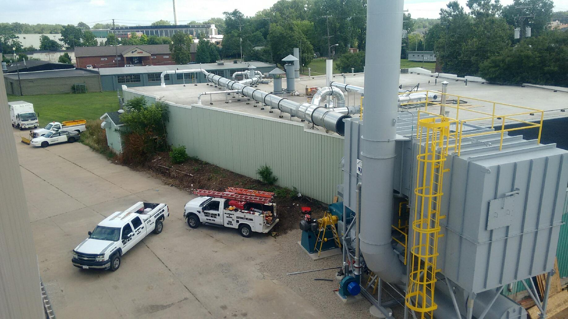 30,000 SCFM Regenerative Thermal Oxidizer