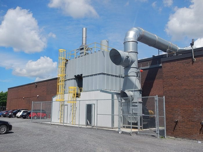 30,000 SCFM Regenerative Thermal Oxidizer