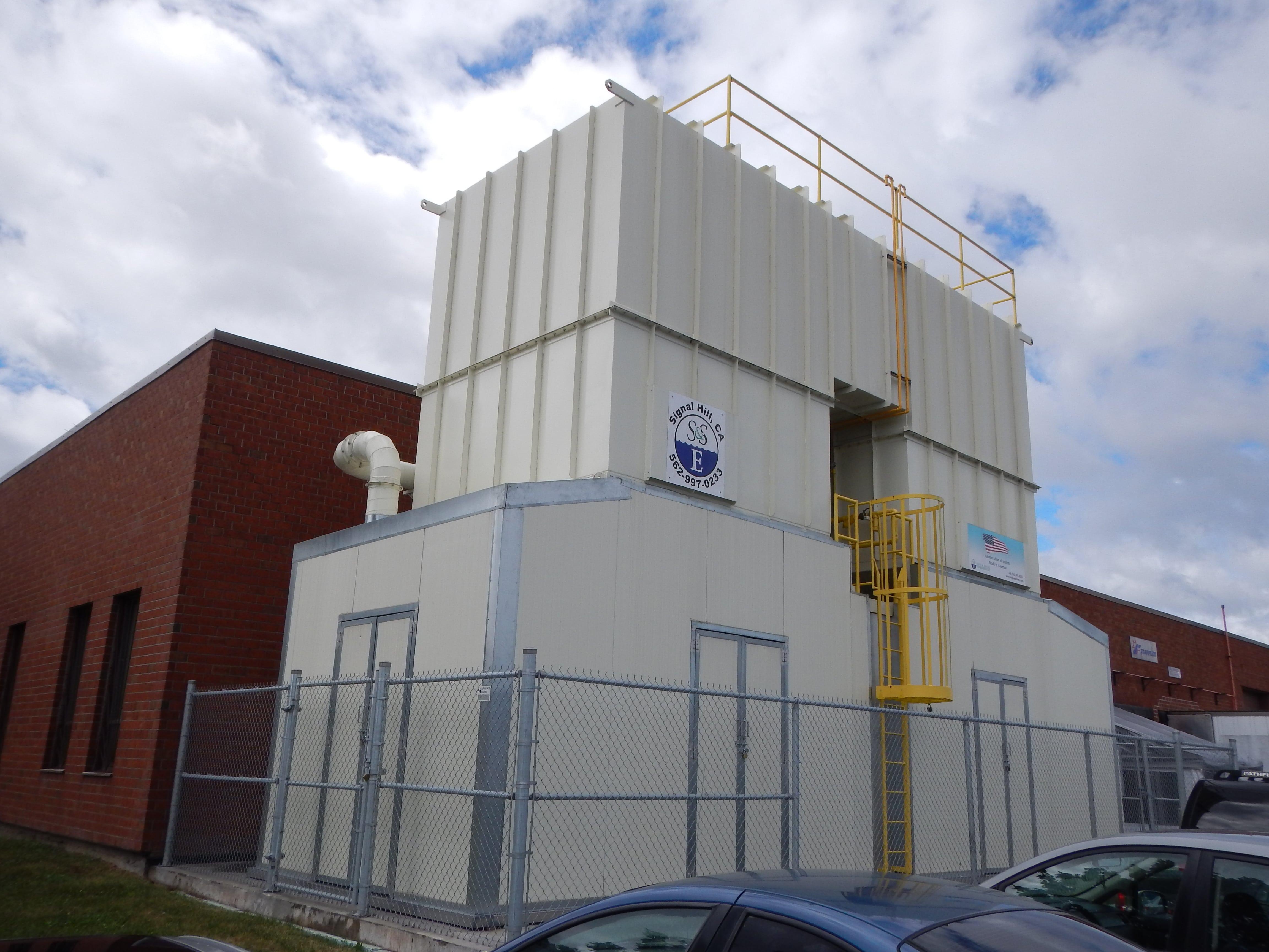 33,000 SCFM Regenerative Thermal Oxidizer