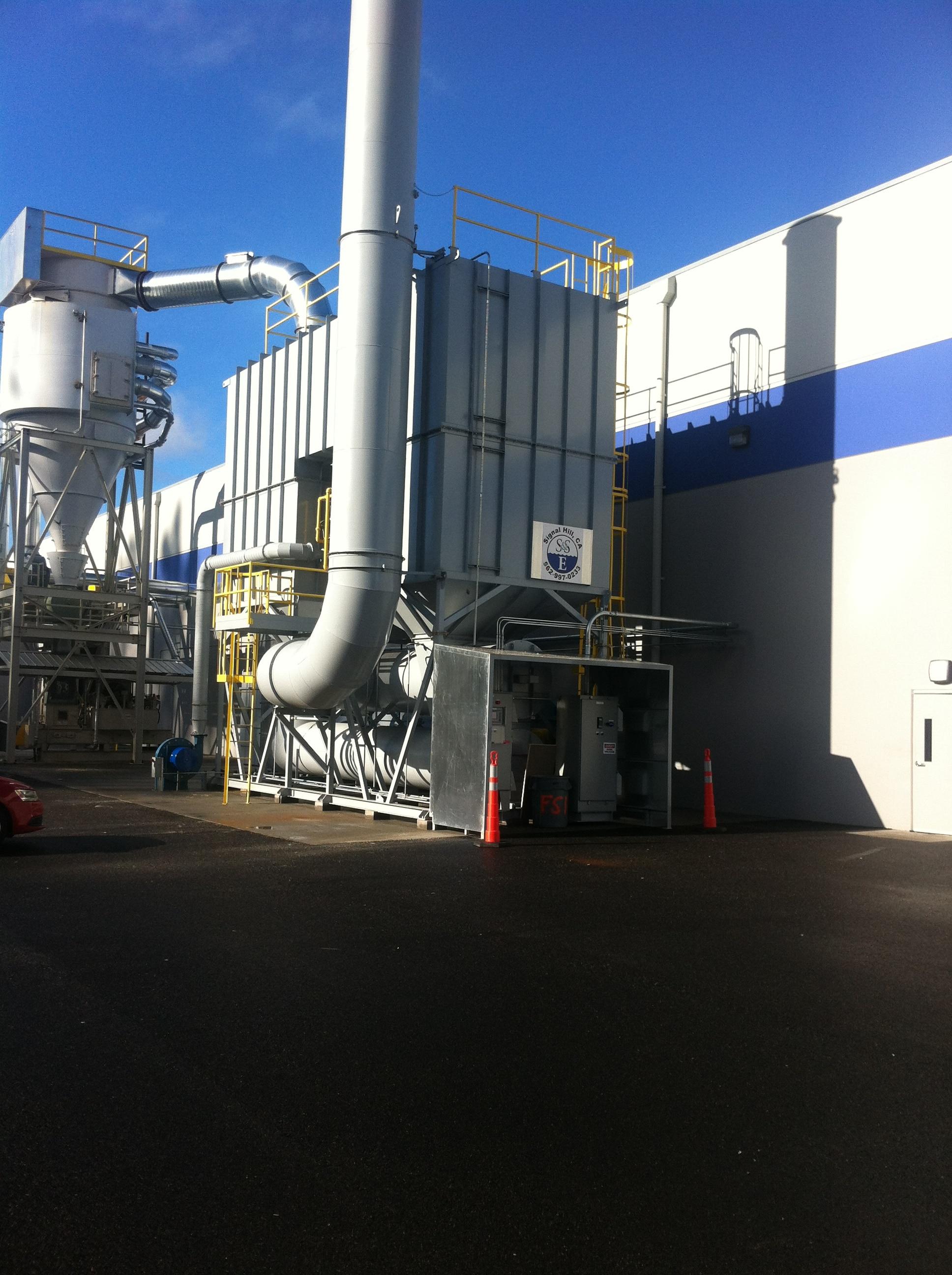 36,000 SCFM Regenerative Thermal Oxidizer