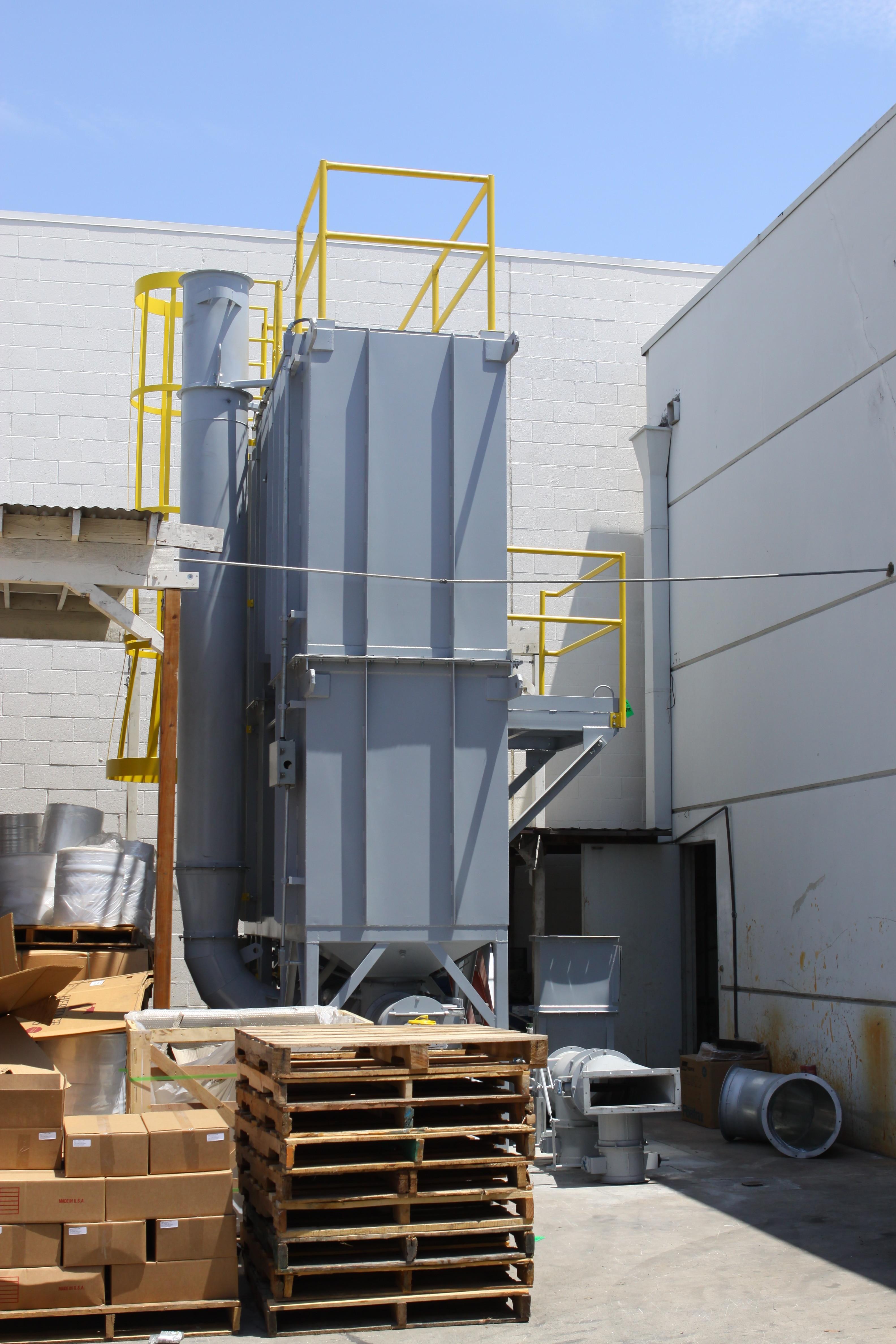 3K RTO 13,000 SCFM Regenerative Thermal Oxidizer