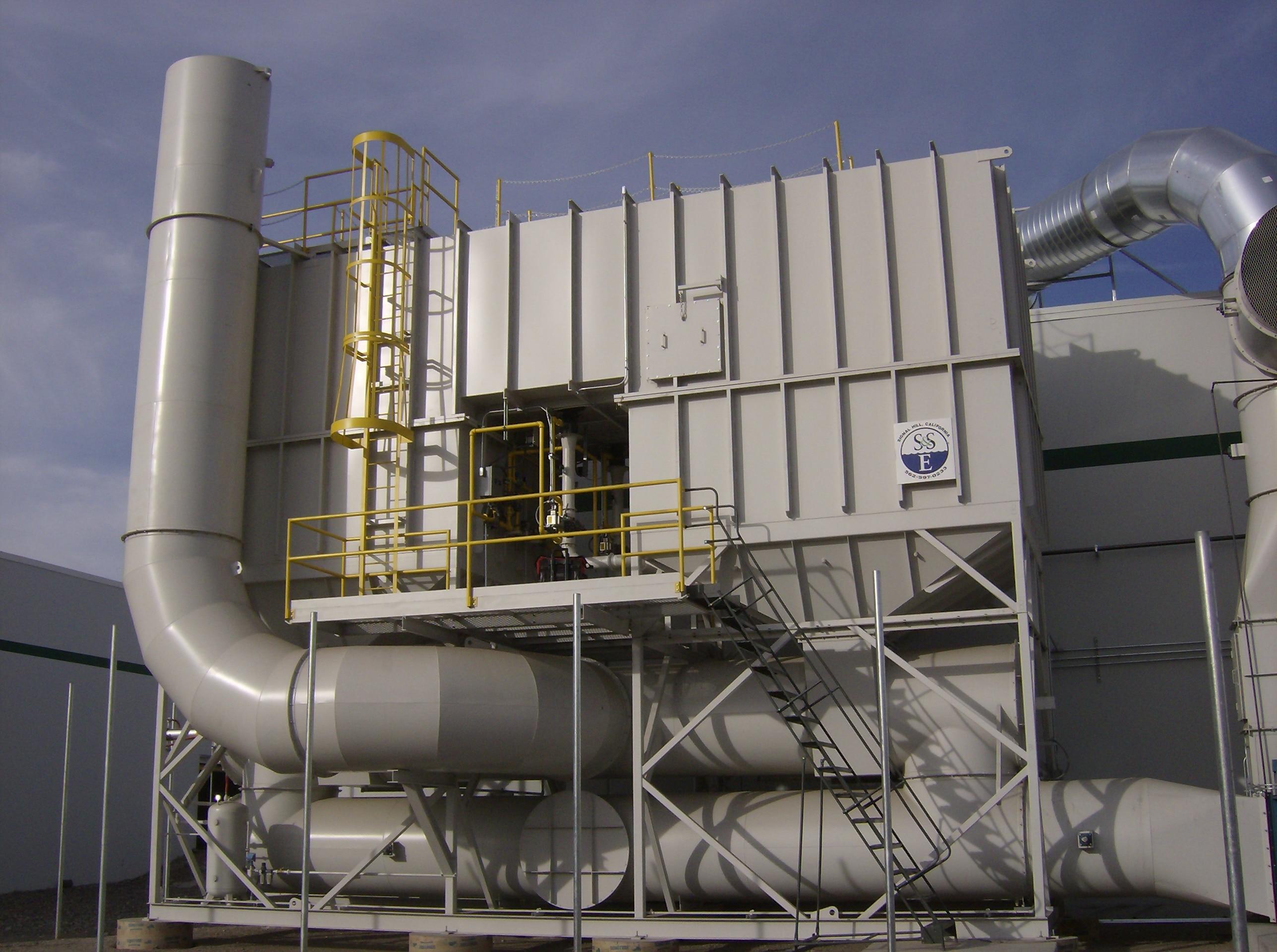 Regenerative Thermal Oxidizer - 40,000 SCFM