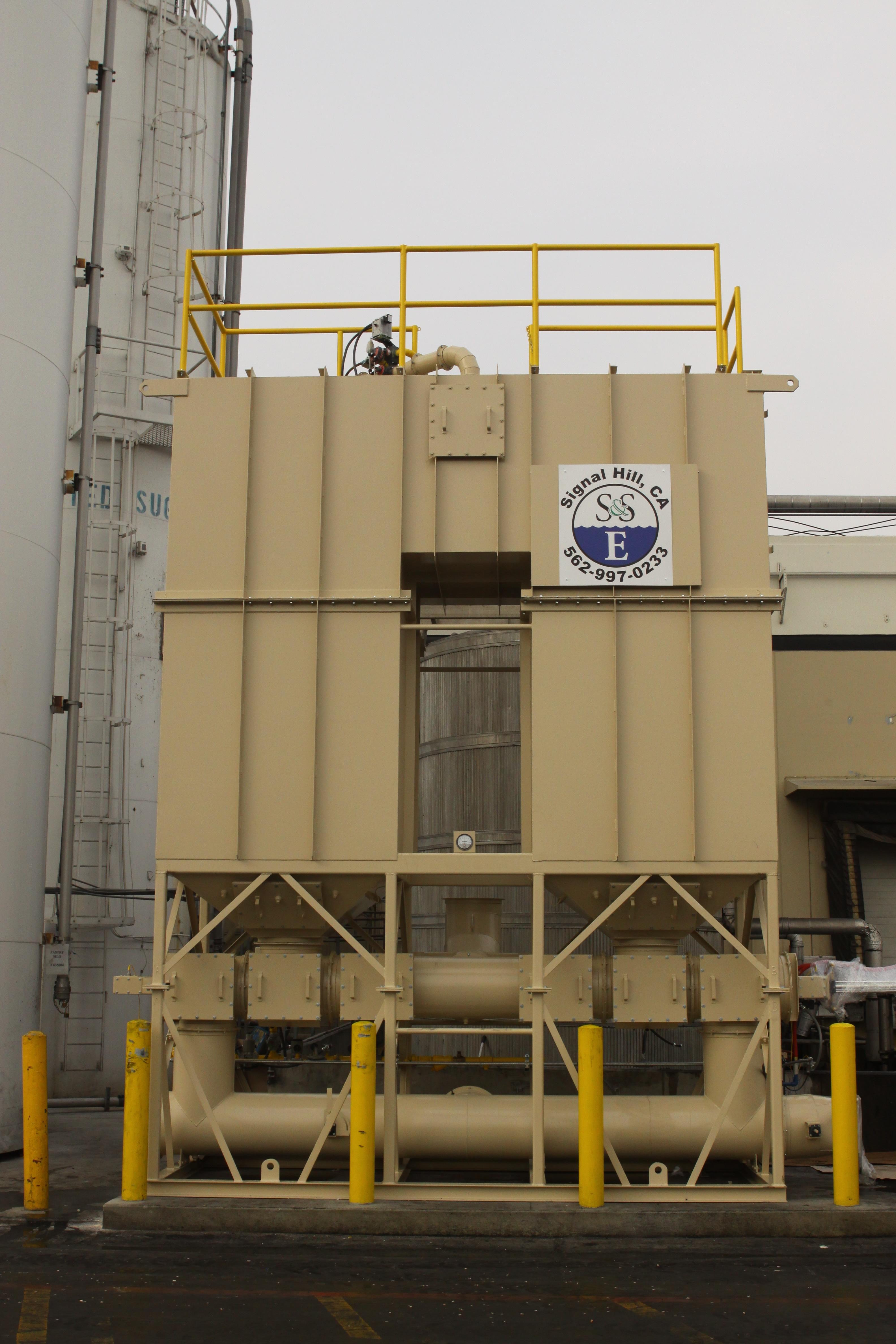 Regenerative Thermal Oxidizer for Food Manufacturing - 5,000 SCFM