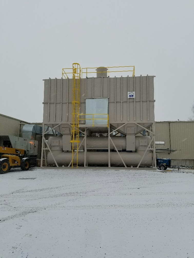 50,000 SCFM Regenerative Thermal Oxidizer