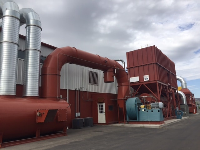 50,000 SCFM Regenerative Thermal Oxidizer with Heat Exchanger