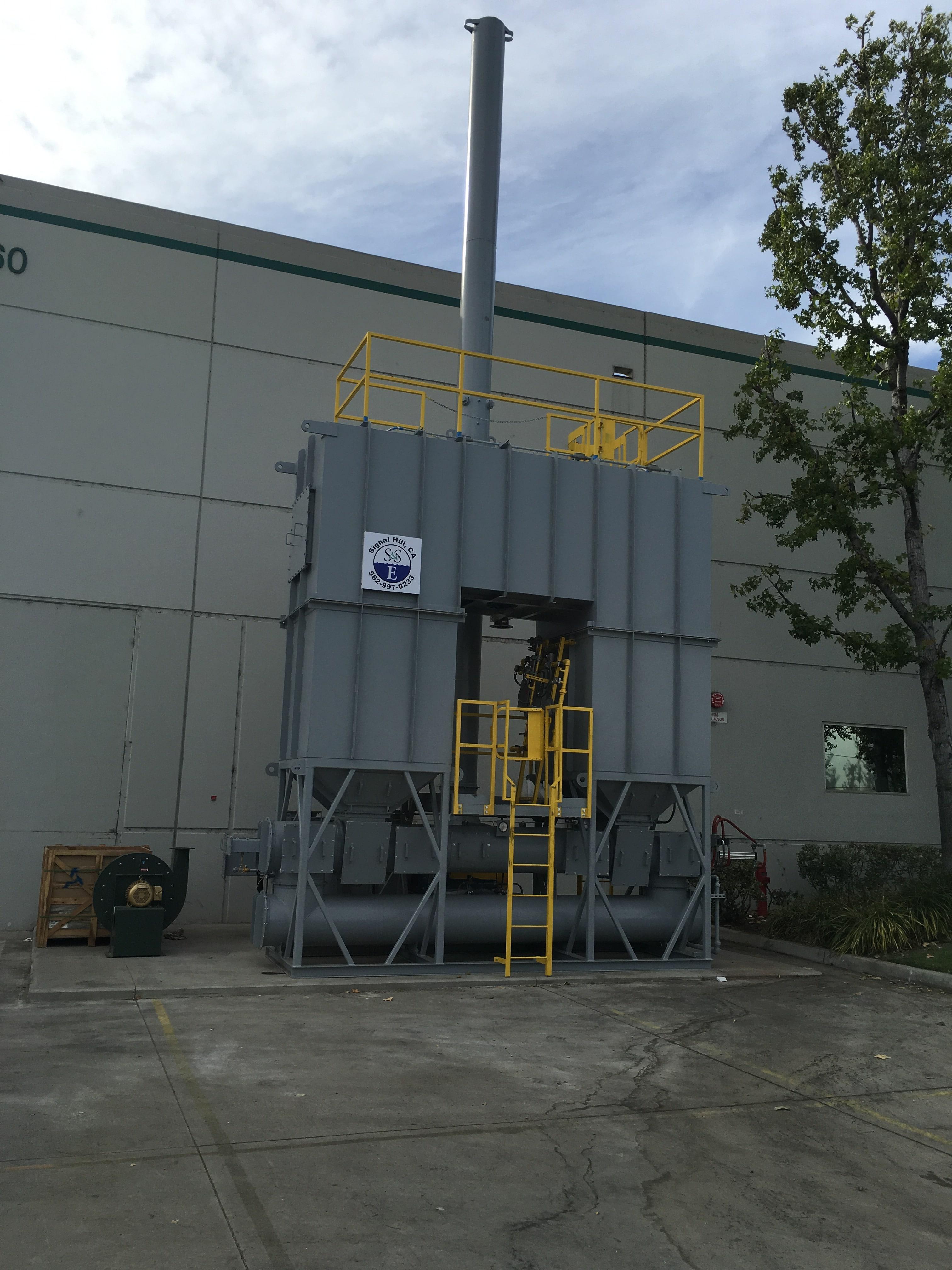 5,000 SCFM RTO for Food Manufacturing