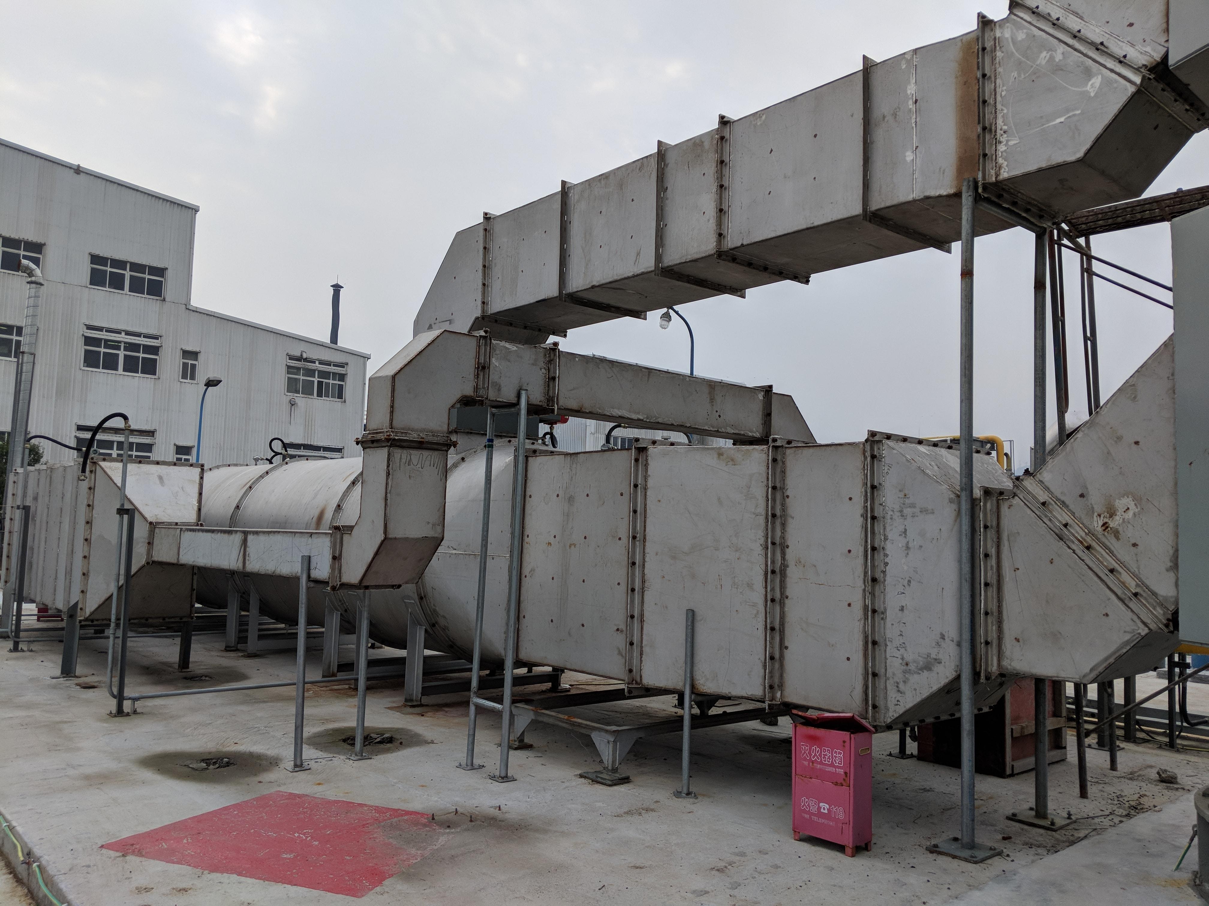 6,000 SCFM Recuperative Thermal Oxidizer