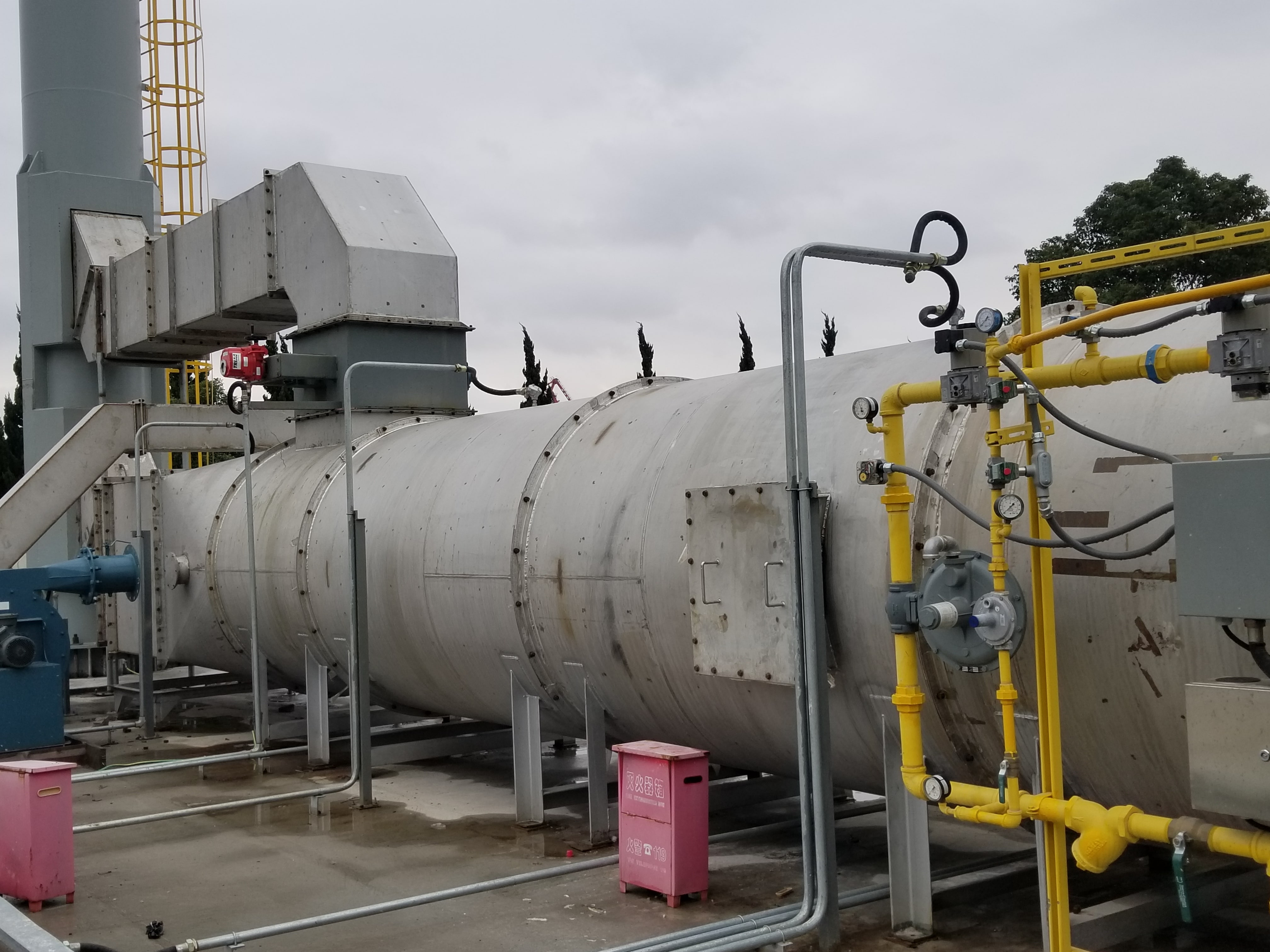 Recuperative Thermal Oxidizer - Air Pollution Control