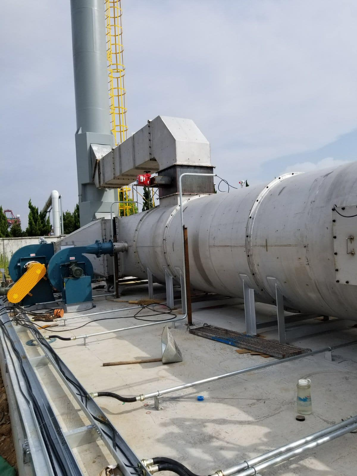 New Recuperative Thermal Oxidizer