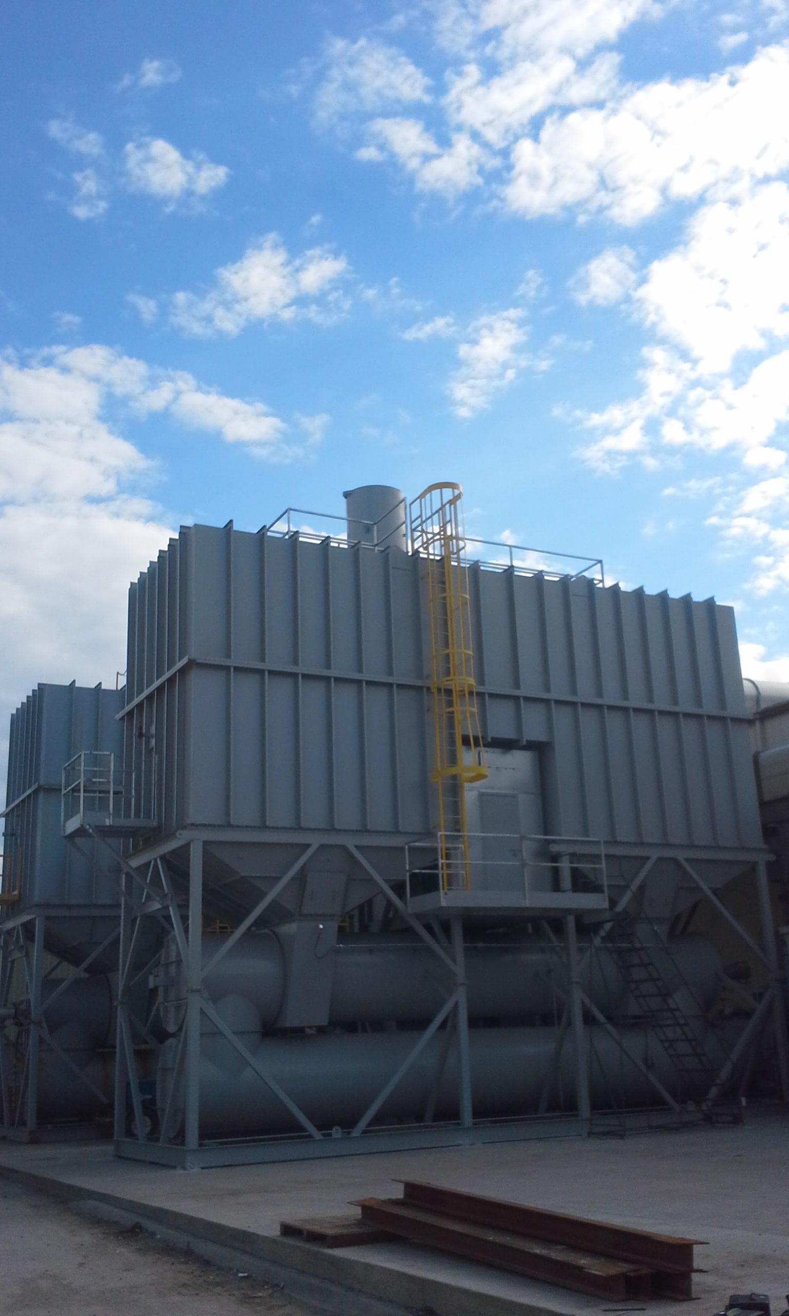 60,000 SCFM Regenerative Thermal Oxidizer