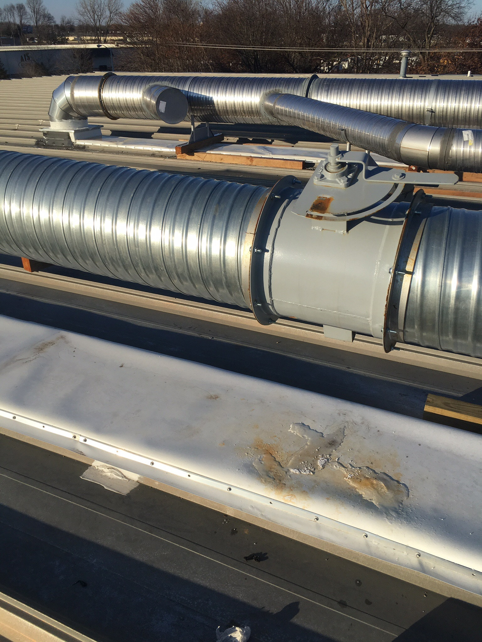 Duct Installation 10K Regenerative Thermal Oxidizer