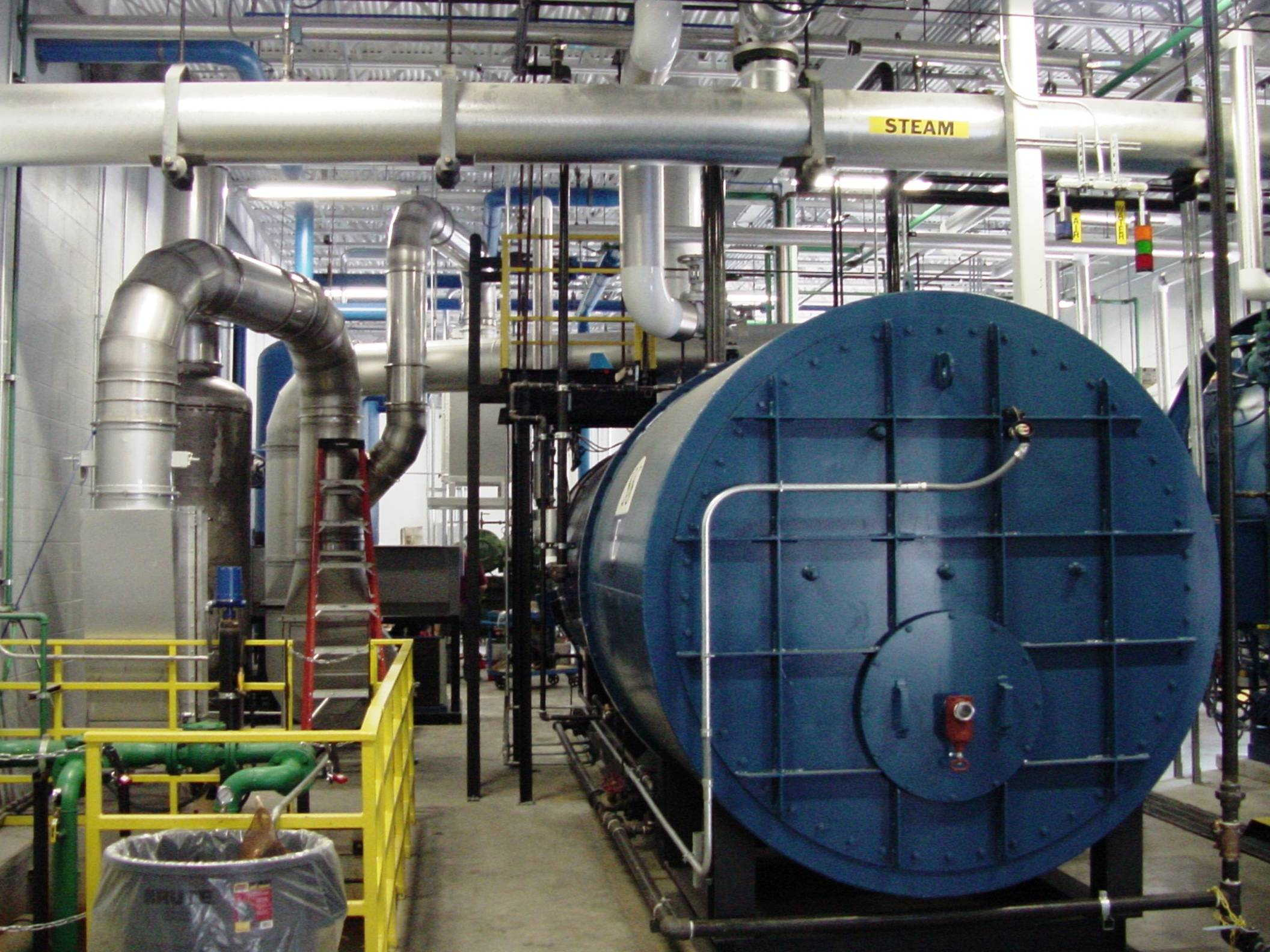 Steam Generating Thermal Oxidizer