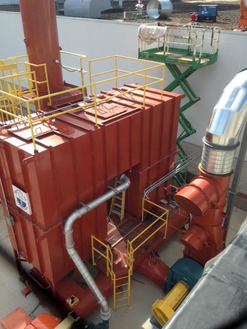 VOC Collection 12,500 SCFM Regenerative Thermal Oxidizer