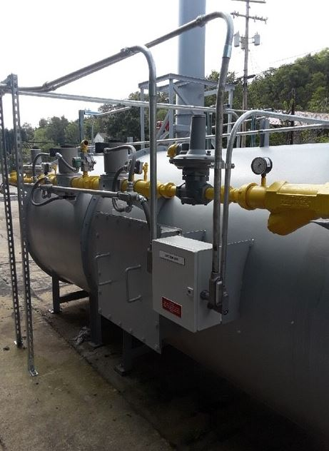 6,000 SCFM - Direct Fired Thermal Oxidizer