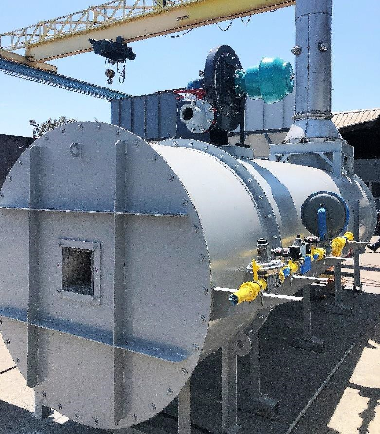 Ship Shore Direct Fired Thermal Oxidizer DFTO for Biogas