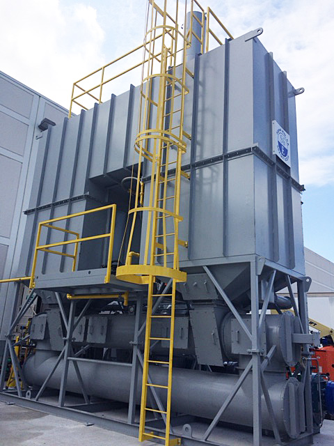 Example of a 10,000 SCFM RTO for an EPS Customers
