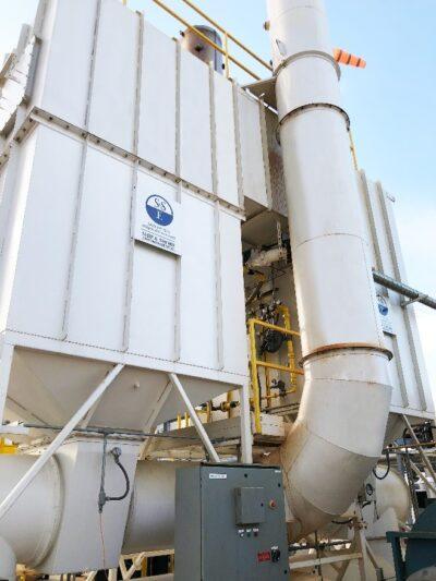 Ship & Shore 15,000 SCFM RTO for a Biogas Customer