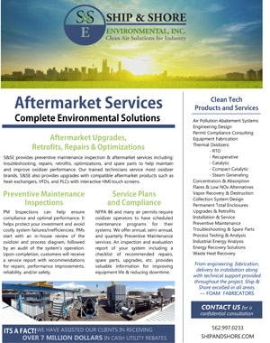 Aftermarket Services Brochure