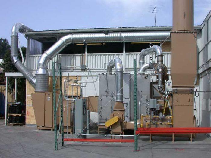 VOC abatement systems