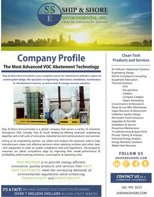 VOC Abatement Technology