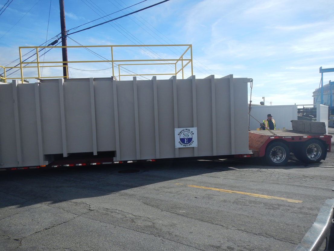 Ship and Shore Installs New Regenerative Thermal Oxidizer
